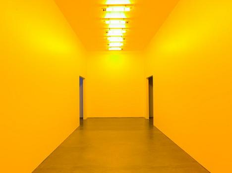 Room for one colour, 1997 - Olafur Eliasson