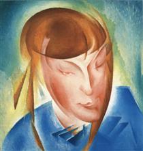 Portrait of the Daughter - Oleksandr Bogomazov