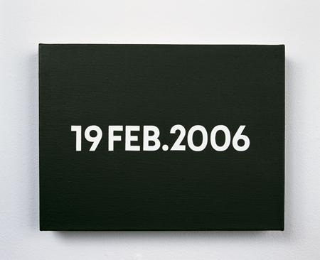 19 February 2006 (from Today Series), 2006 - On Kawara