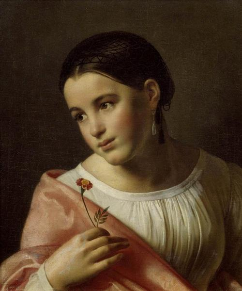 Poor Lisa, 1827 - Orest Kiprensky