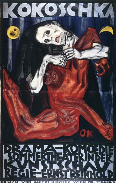 Pieta, 1909 - Oskar Kokoschka