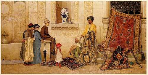 The Carpet Merchant - Osman Hamdi