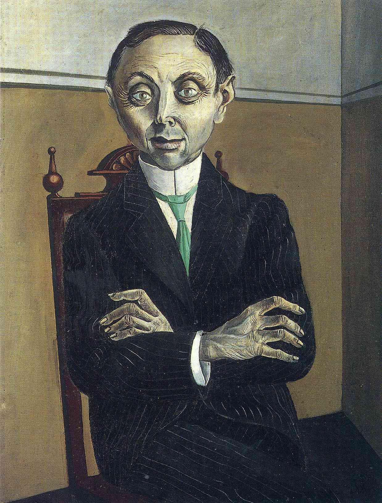 Bien-aimé Portrait of Paul F. Schmidt, 1921 - Otto Dix - WikiArt.org SY36