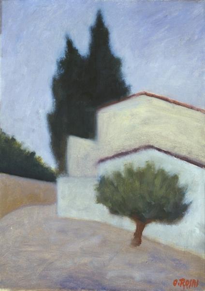 Paesaggio, 1949 - Ottone Rosai