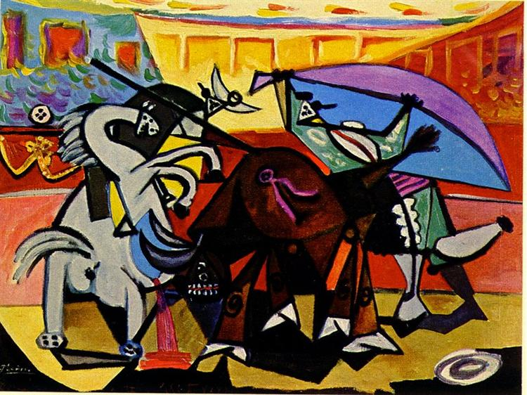 A bullfight, 1934 - Pablo Picasso