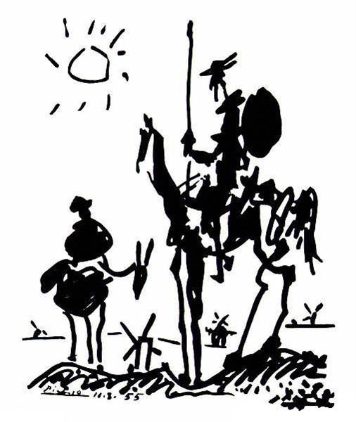 Don Quixote, 1955 - Pablo Picasso