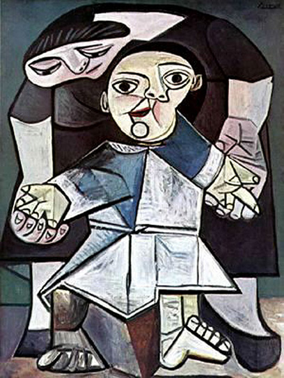 Firsts steps - Pablo Picasso