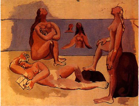 Five bathers, 1920