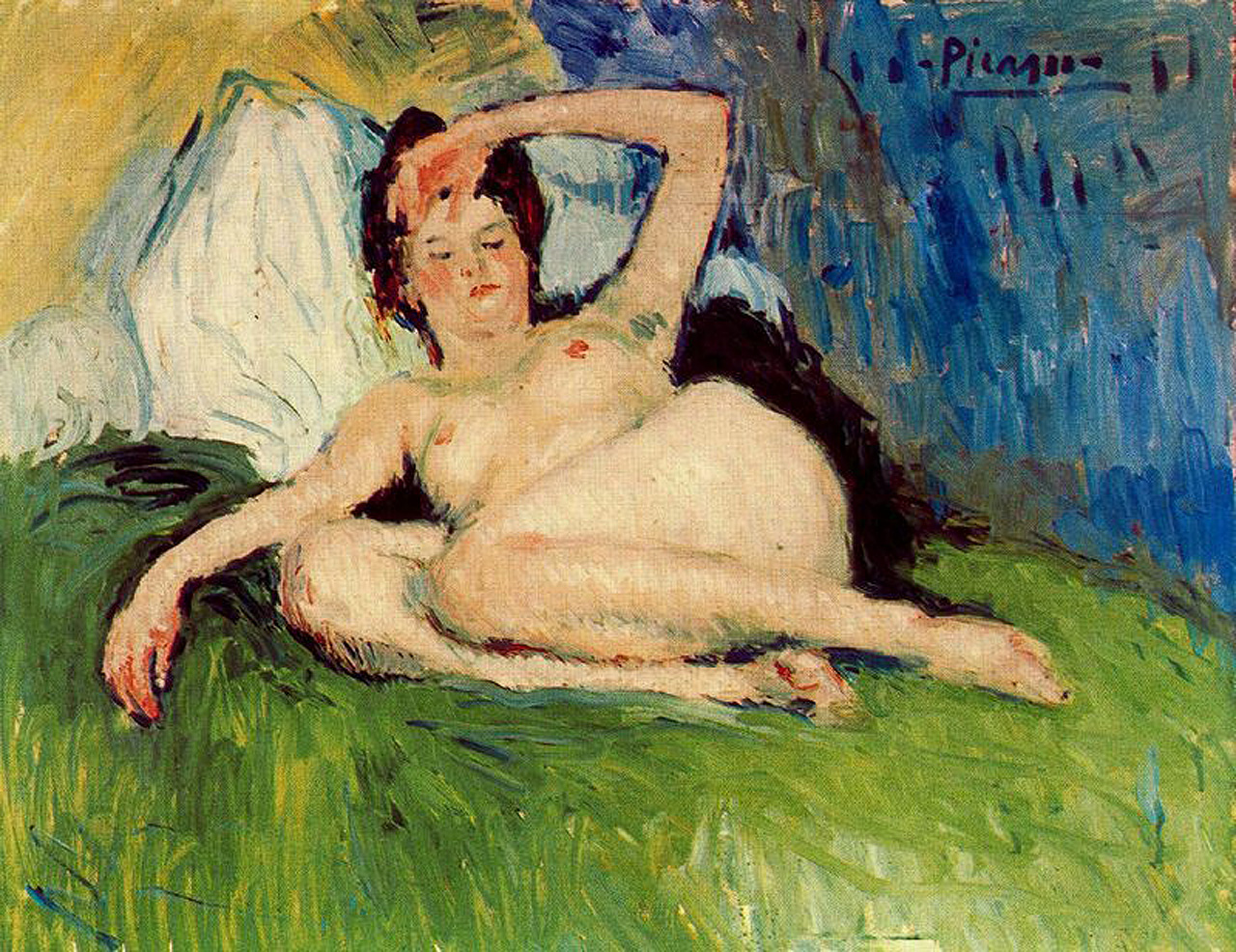 http://uploads1.wikipaintings.org/images/pablo-picasso/jeanne-reclining-nude-1901.jpg