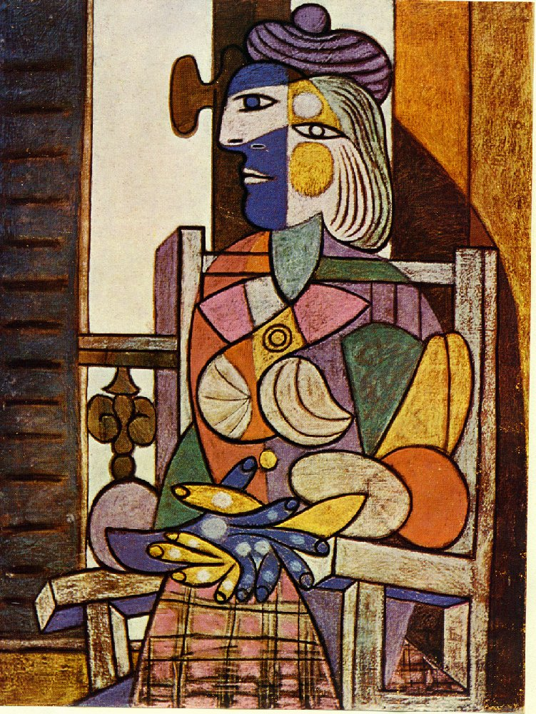 Seated Portrait of Marie-Therese Walter, 1937 - Pablo Picasso ...