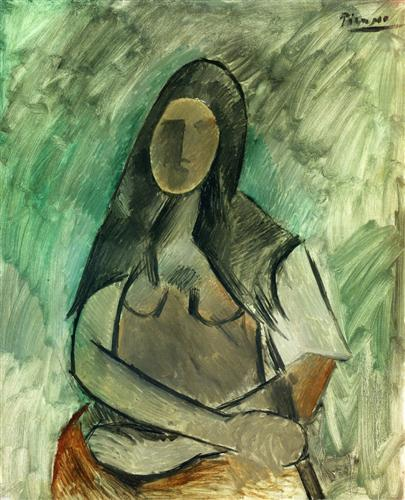 Seated woman - Pablo Picasso