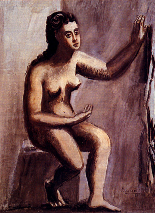 Seated woman, 1920