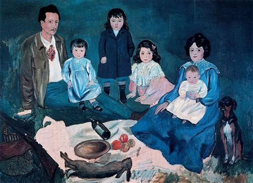 Soler family - Pablo Picasso