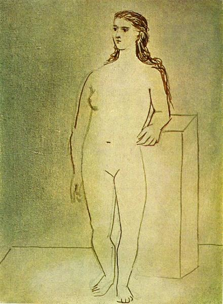 Standing female nude, 1923 - Pablo Picasso