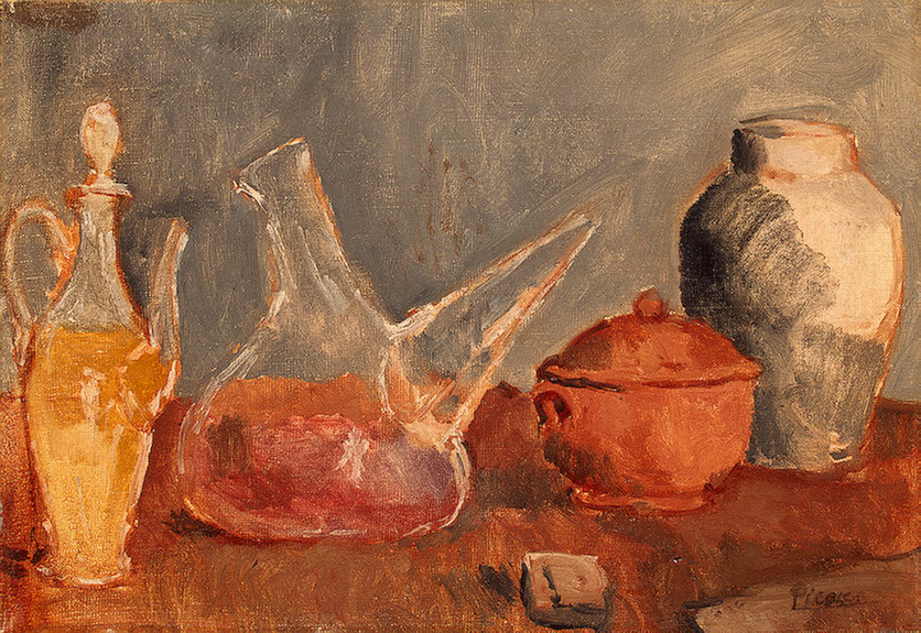 Still life with vases, 1906 - Pablo Picasso - WikiArt.org
