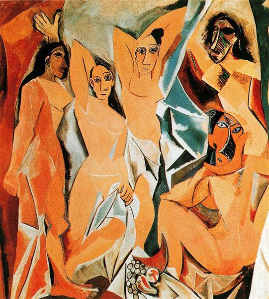 The girls of Avignon, 1907 - Pablo Picasso