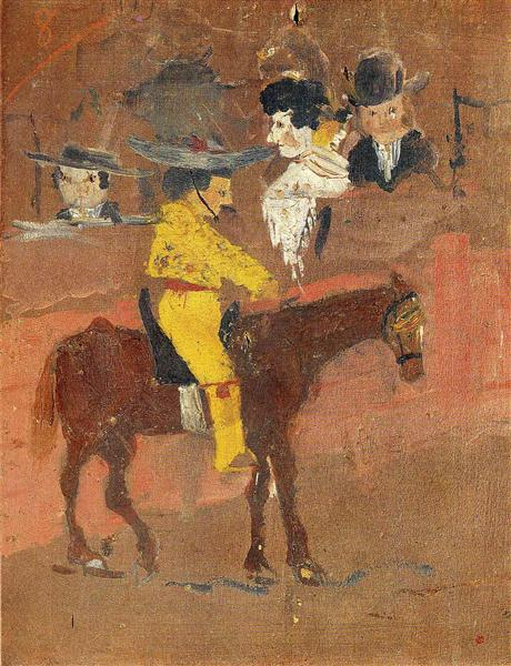 The picador, 1890 - Pablo Picasso