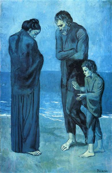 The Tragedy, 1903 - Pablo Picasso
