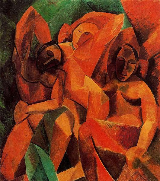Three women, 1908 - Pablo Picasso