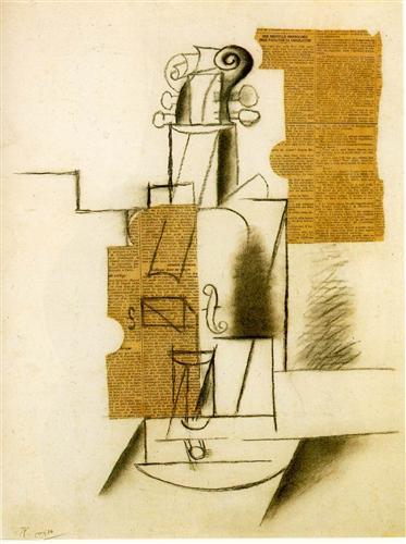 Violin - Pablo Picasso