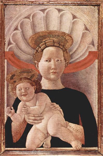 Мадонна, c.1445 - Паоло Уччелло