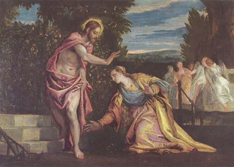 Do not touch me - Paolo Veronese