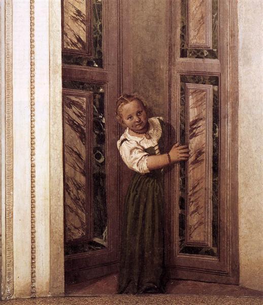 Girl in the Doorway, 1560 - 1561 - Paolo Veronese