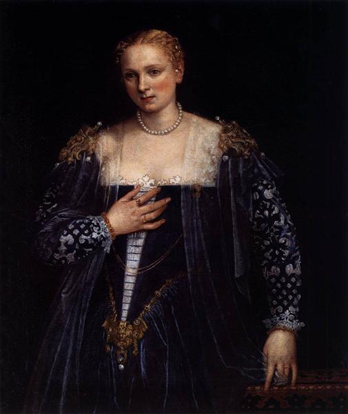Portrait of a Venetian Woman (La Belle Nani), c.1560 - Paolo Veronese
