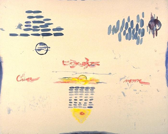Kweilin Dreaming, 1989 - Pat Steir