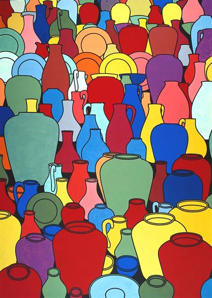 Pottery, 1969 - Patrick Caulfield