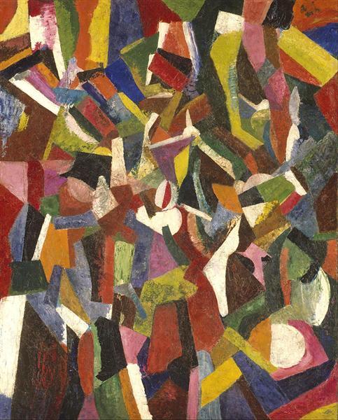 Composition VI, 1916 - Patrick Henry Bruce