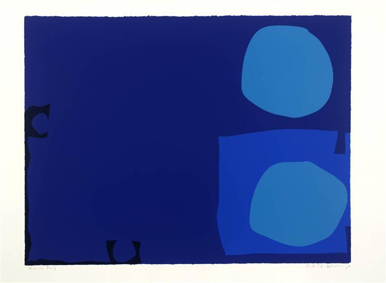 Four Blues Two Discs, 1970 - Patrick Heron