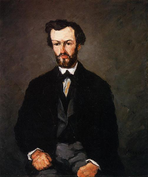 Portrait of Anthony Valabregue, 1866 - Paul Cezanne