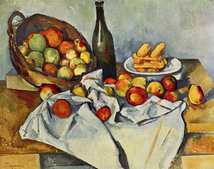 Basket of Apples, 1895 - Paul Cezanne