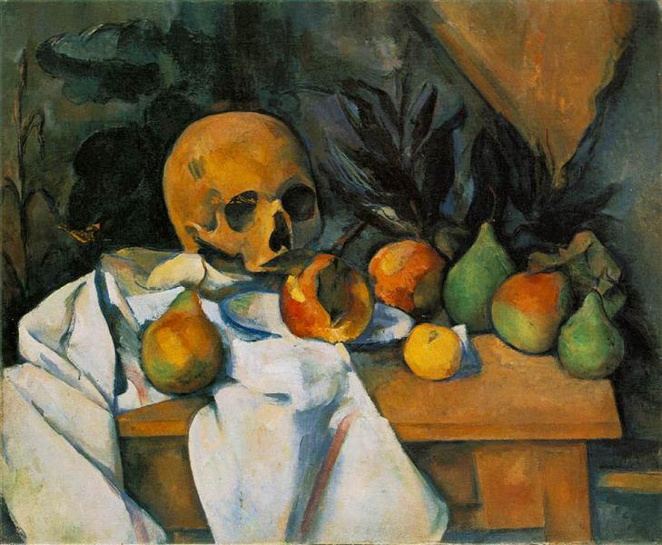 Still Life with Skull, 1898 - Paul Cezanne