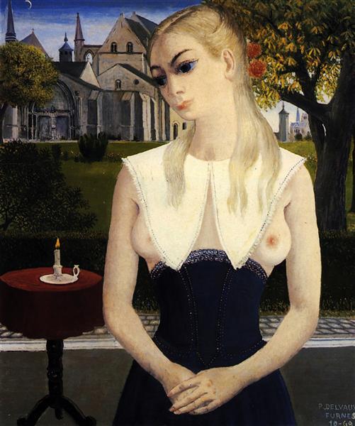 Little Marie, 1969 - Paul Delvaux