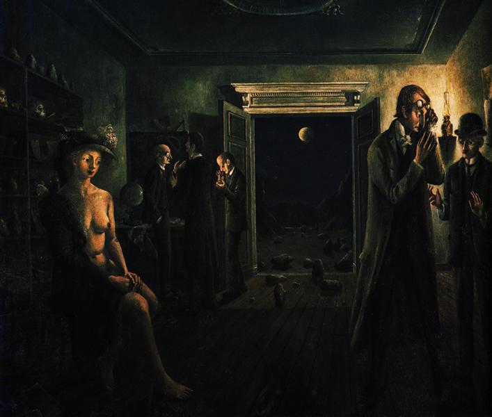Phases of the Moon II, 1941 - Paul Delvaux