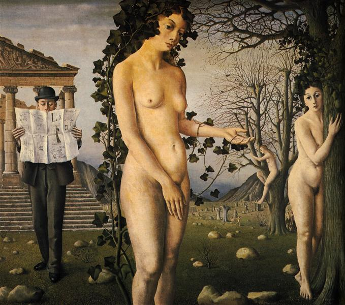 The Man in the Street, 1940 - Paul Delvaux