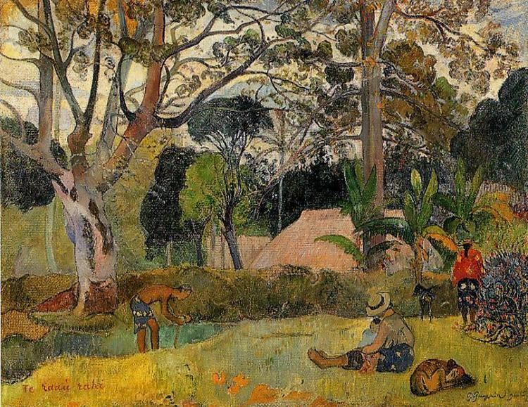 A big tree, 1891 - Paul Gauguin