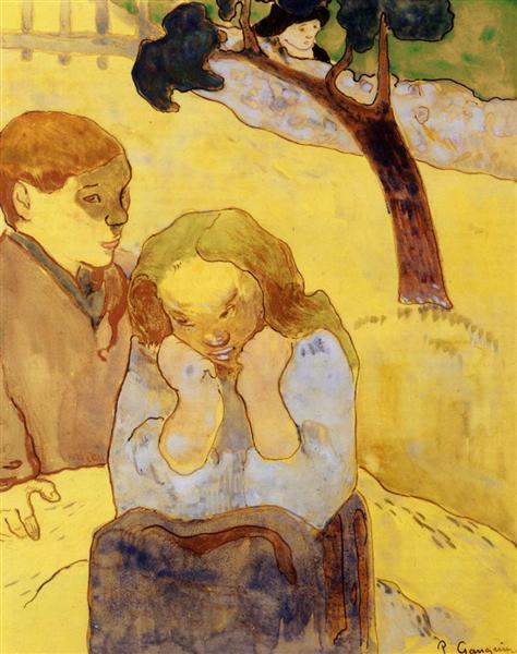 Human misery, 1889 - Paul Gauguin