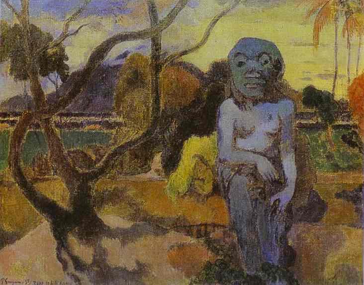 Idol, 1898 - Paul Gauguin