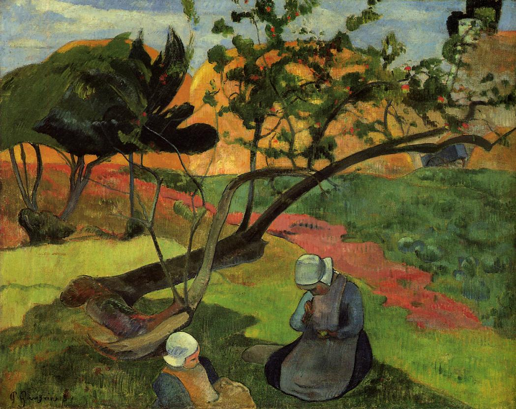 http://uploads1.wikipaintings.org/images/paul-gauguin/landscape-with-two-breton-women-1889.jpg
