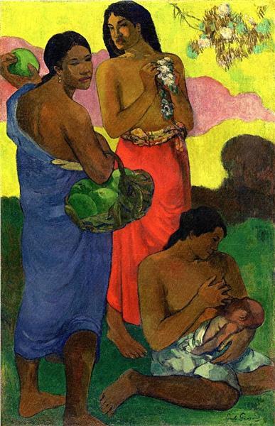 Maternite II, 1899 - Paul Gauguin