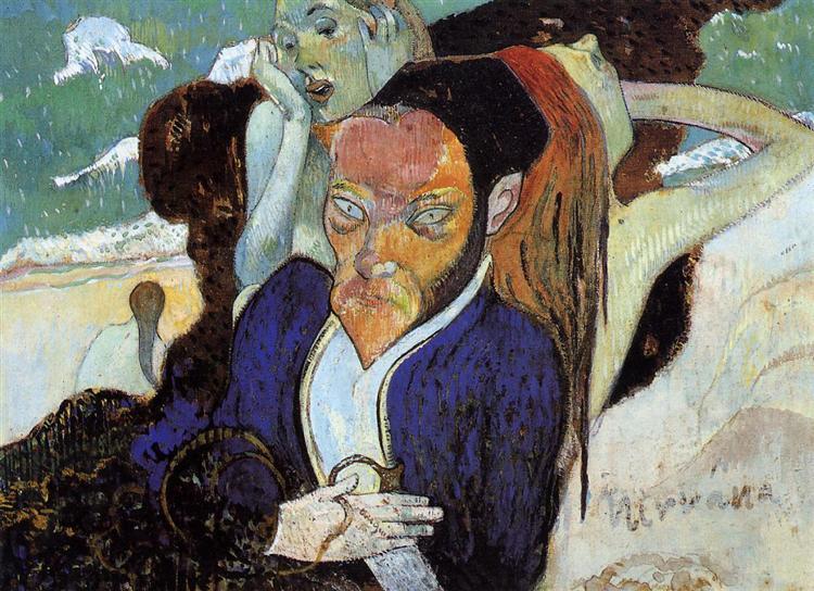 Nirvana, Portrait of Jacob Meyer de Haan, 1890 - Paul Gauguin