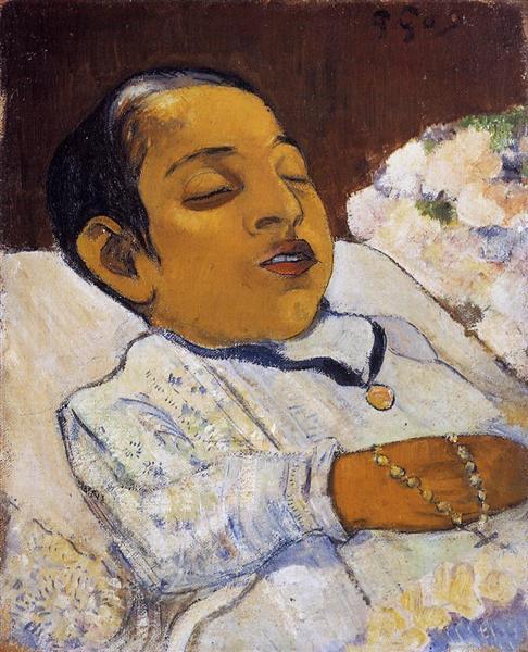 Portrait of Atiti, c.1891 - Paul Gauguin