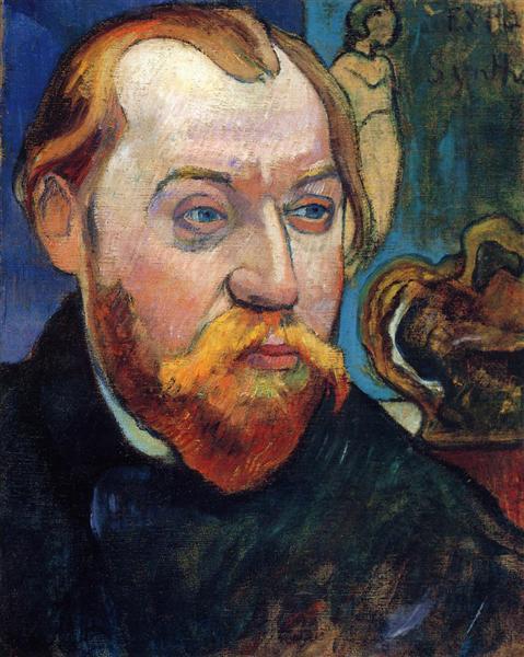 Портрет Луї Руа, 1893 - Поль Ґоґен