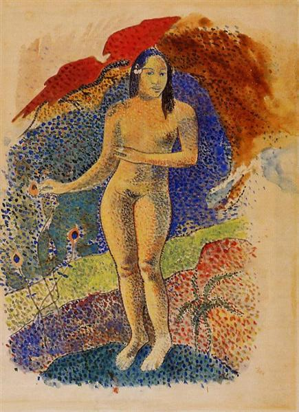 Tahitian Eve, 1892 - Paul Gauguin