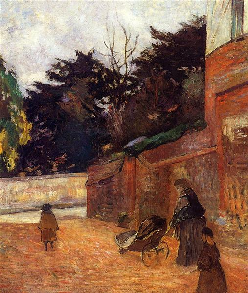 The artist's children, 1884 - Paul Gauguin