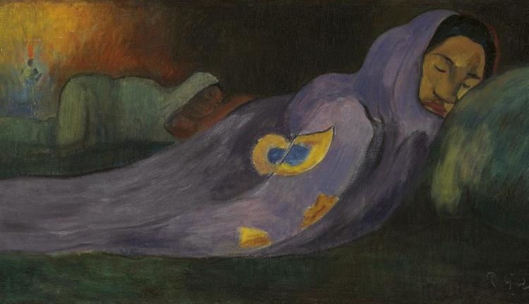 The dreaming, 1892 - Paul Gauguin