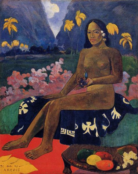 The Seed of the Areoi, 1892 - Paul Gauguin